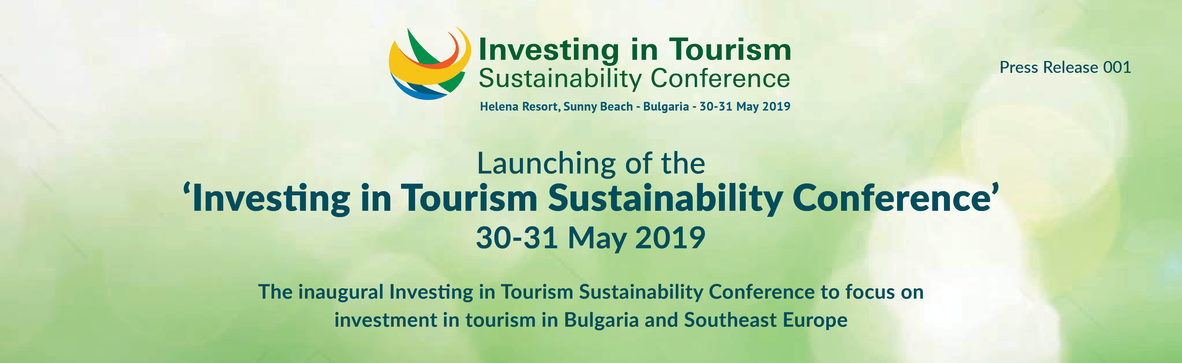 Investing in tourism Sustainability Conference – Investing in